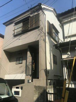 東京都板橋区大山外壁塗装工事の記事画像