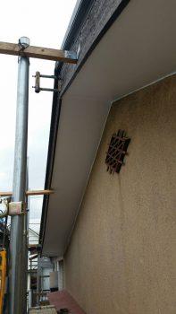 東京都練馬区北町リフォーム軒天張り替え工事の記事画像