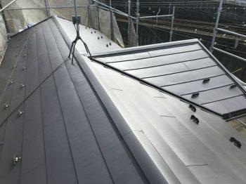 東京都練馬区田柄屋根重ね葺き工事の記事画像