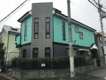 東京都練馬区羽沢外壁塗装、屋根塗装工事の記事画像