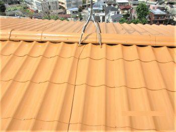 東京都練馬区下石神井 既存屋根 屋根塗装の記事画像
