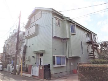 東京都練馬区大泉学園町 既存サイディング 外壁塗装の記事画像