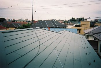 東京都練馬区平和台 既存コロニアル 屋根葺き替え 雨樋交換工事の記事画像