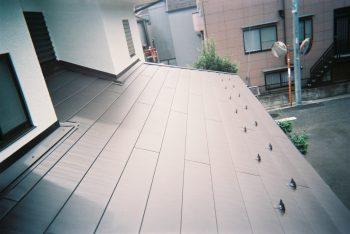 東京都練馬区南田中 既存コロニアル 屋根葺き替え工事の記事画像