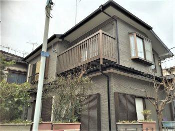 東京都板橋区徳丸 窯業系サイディング 外壁塗装の記事画像