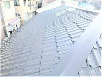 東京都板橋区徳丸 既存屋根 マックス瓦葺き替えの記事画像