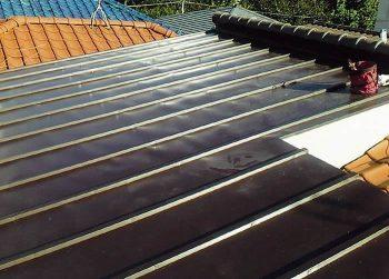 東京都練馬区旭町 屋根塗装:既存 瓦桟葺きの記事画像
