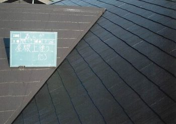 東京都板橋区徳丸 屋根塗装:築8年 コロニアル屋根の記事画像