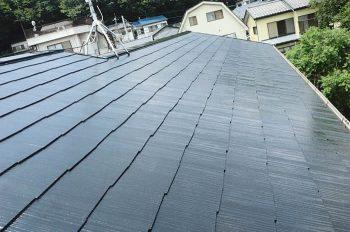 東京都板橋区西台 屋根塗装:築13年 コロニアル屋根の記事画像