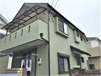 東京都練馬区田柄 既存外壁 外壁塗装の記事画像