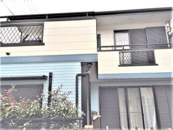 東京都練馬区土支田 既存サイディング 外壁塗装の記事画像