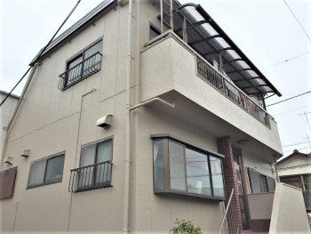 東京都板橋区赤塚 既存外壁 外壁塗装工事 屋上防水工事の記事画像