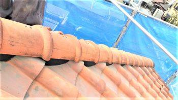 東京都練馬区貫井 屋根漆喰補修 棟積みなおしの記事画像
