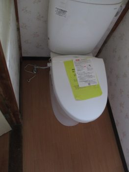 板橋区常盤台 トイレ交換工事の記事画像