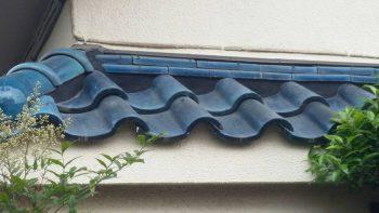 東京都練馬区羽沢 リフォーム 下屋根漆喰工事の記事画像