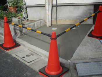 埼玉県志木市本町 リフォーム 土間コンクリート工事の記事画像