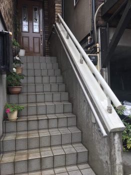 埼玉県和光市新倉 手すり取り付け工事の記事画像