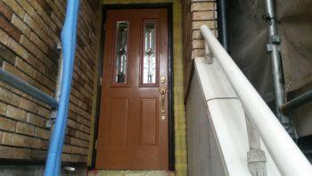 東京都練馬区貫井 リフォーム ドア塗装工事の記事画像