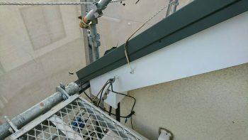埼玉県和光市白子 破風板金工事の記事画像
