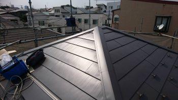 埼玉県和光市南 屋根葺き替え工事の記事画像