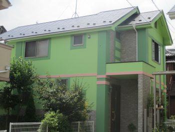 埼玉県朝霞市青葉台 外壁塗装工事の記事画像