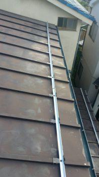 埼玉県朝霞市根岸台 リフォーム 雪止め取り付け工事の記事画像