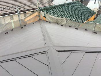 埼玉県新座市新座 屋根葺き替え工事の記事画像