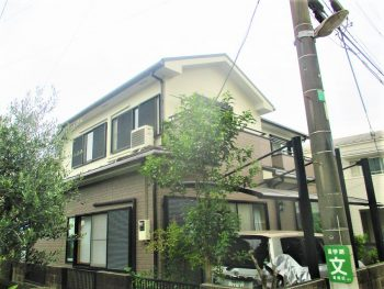埼玉県新座市菅沢 外壁塗装工事の記事画像