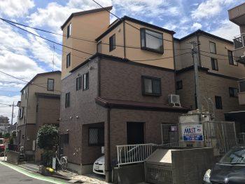 東京都豊島区北池袋 外壁塗装工事の記事画像