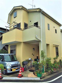 東京都北区滝野川 外壁塗装工事の記事画像