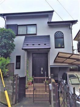 東京都北区堀船 外壁塗装工事の記事画像