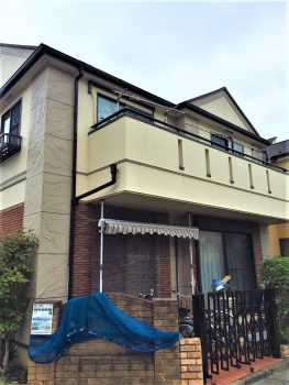 東京都豊島区高松 外壁塗装工事の記事画像