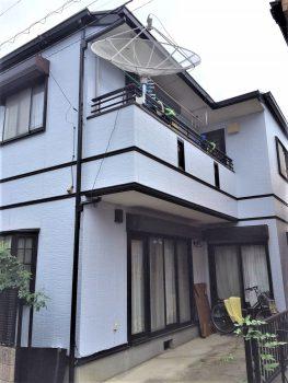 東京都北区王子 外壁塗装工事の記事画像