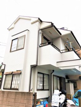 埼玉県志木市宗岡 リフォーム 外壁塗装工事の記事画像