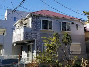 東京都北区浮間 リフォーム 外壁塗装 屋根塗装工事の記事画像