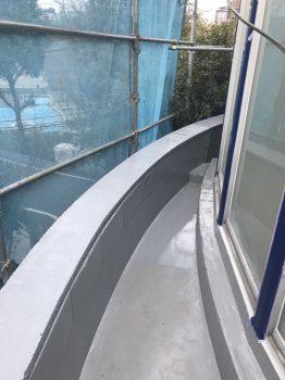 東京都北区神谷 リフォーム ベランダ床防水工事の記事画像