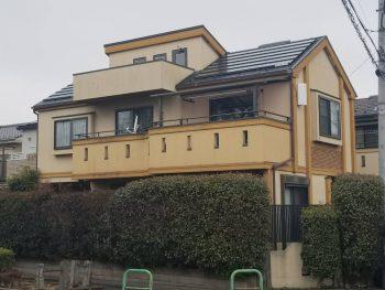 埼玉県志木市柏町 リフォーム 外壁塗装工事の記事画像