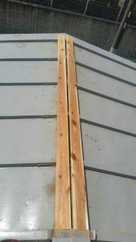 埼玉県和光市新倉トタン棟鈑金下地木交換工事の記事画像