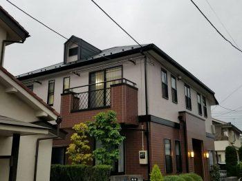 東京都北区中十条外壁塗装、屋根塗装工事の記事画像