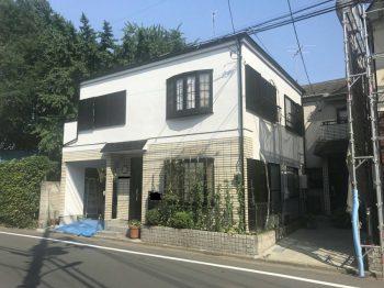 埼玉県和光市新倉外壁塗装工事の記事画像