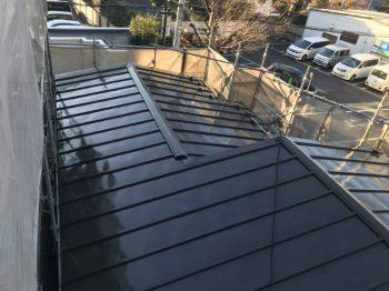 東京都板橋区中台屋根塗装工事の記事画像