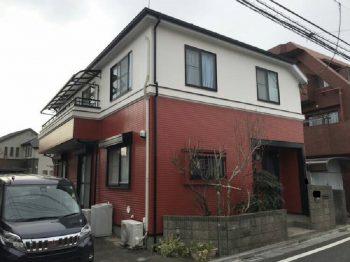 東京都練馬区谷原外壁塗装、屋根塗装工事の記事画像