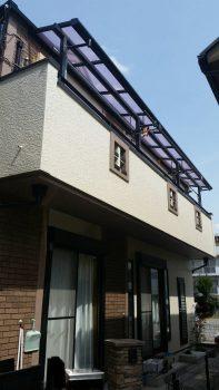 東京都板橋区赤塚外壁塗装、ベランダ防水工事の記事画像
