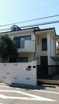 東京都練馬区土支田外壁塗装工事の記事画像