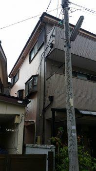 東京都板橋区弥生町外壁塗装工事の記事画像