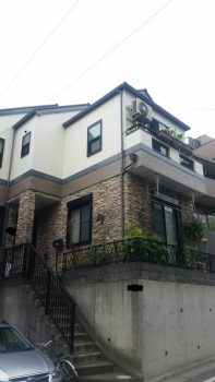 東京都板橋区赤塚外壁塗装、屋根塗装、ベランダ防水工事の記事画像