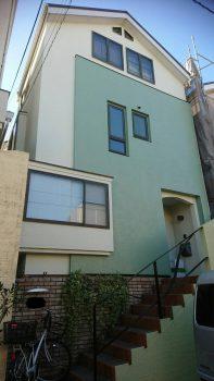 東京都板橋区前野町外壁塗装工事の記事画像
