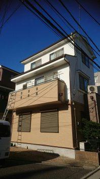 東京都練馬区旭町外壁塗装工事の記事画像