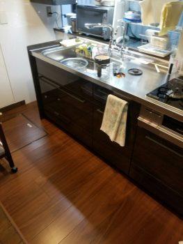 東京都板橋区上板橋システムキッチン交換工事の記事画像