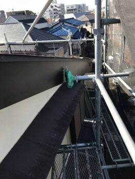 東京都練馬区田柄破風板鈑金工事の記事画像